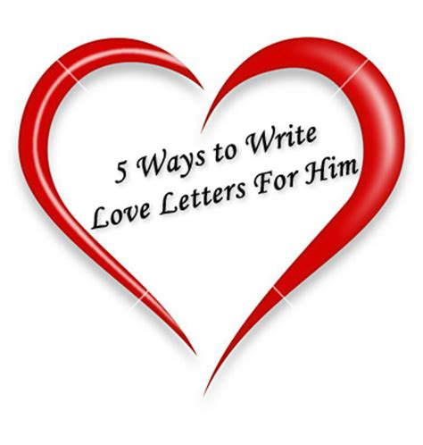 How to write good love letters